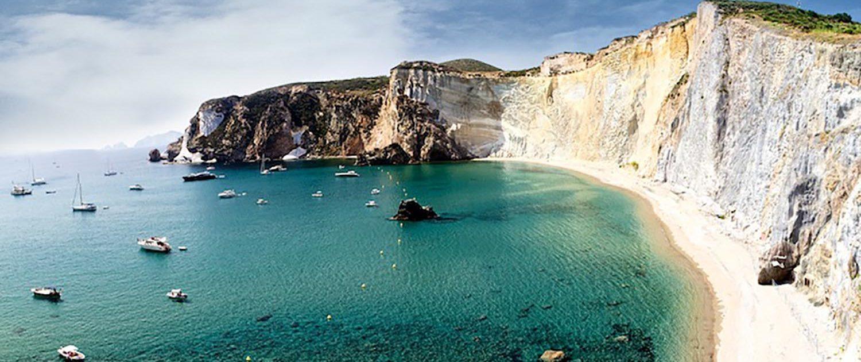 Ponza Spiaggia di Chiaia di Luna - Oceania Team Escursioni e Immersioni a Ponza, Zannone, Palmarola, Ventotene