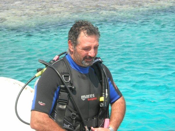 Mauro Certelli - Istruttore Sub - Oceania Team - Oceania Team Escursioni e Immersioni a Ponza, Zannone, Palmarola, Ventotene